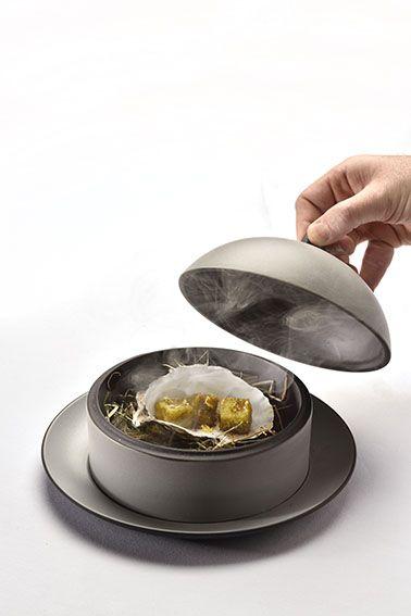 Bon Revol Exuinox, Dimsum Dish #kitchenfactory #revol #chinaware #porcelain  #dimsum