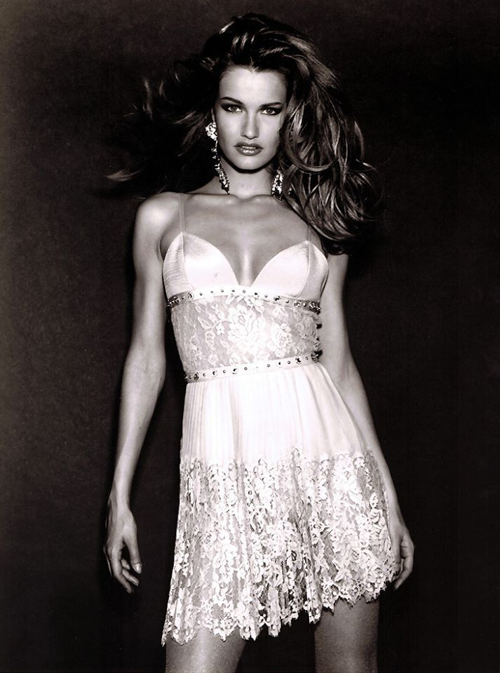 Karen Mulder In Versace Couture 1994