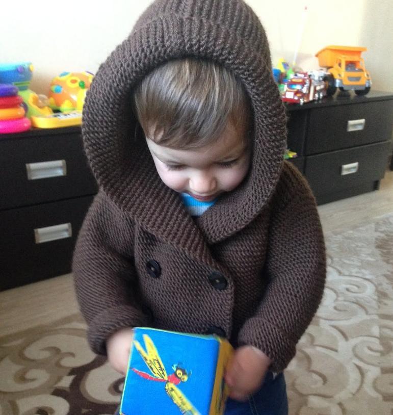 Kapuzenjacke für Baby | stricken | Pinterest | Babys, Stricken und ...