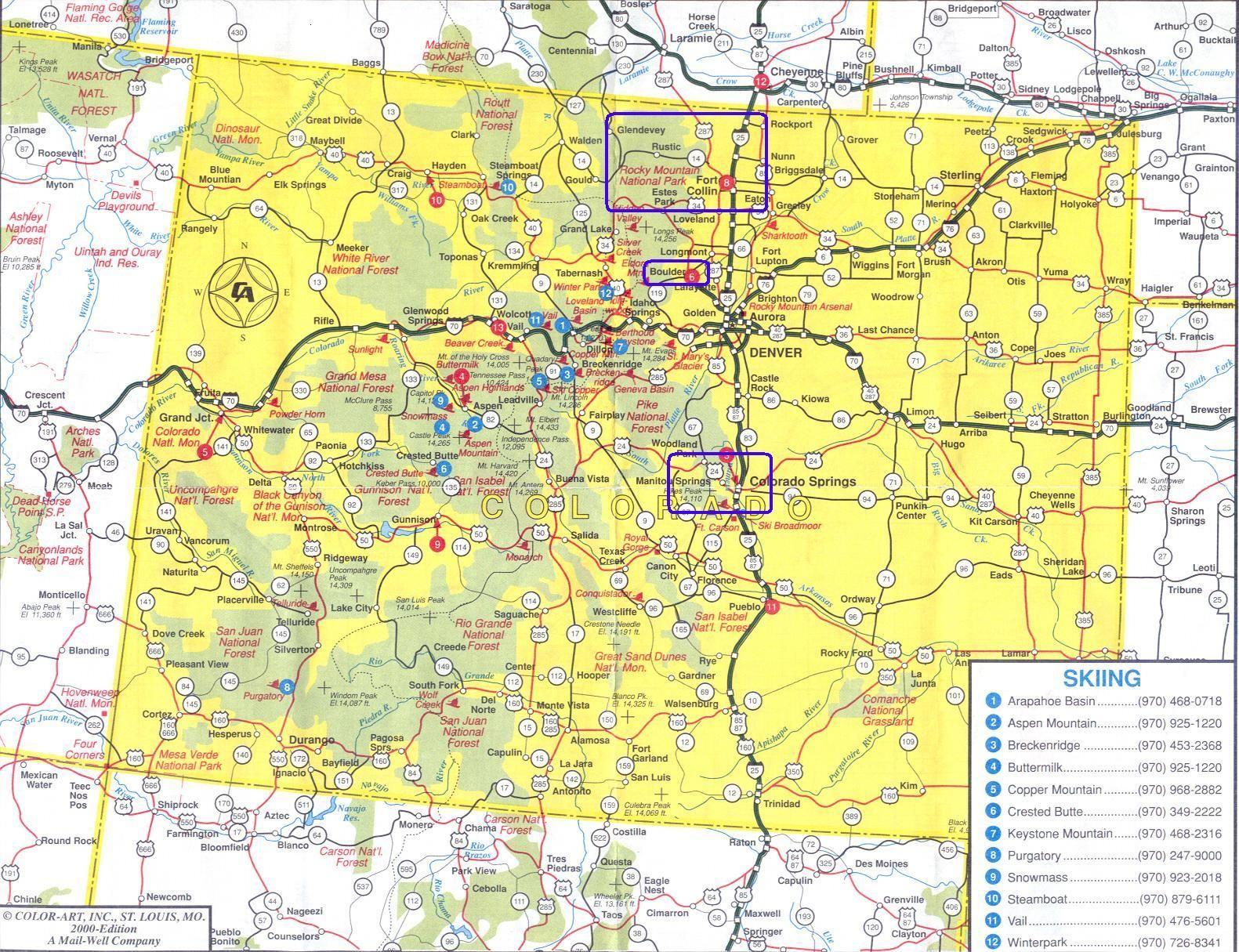 Yelp Denver Httpgrowingdenvercom Yelp Denver Pinterest - Colorado state road map