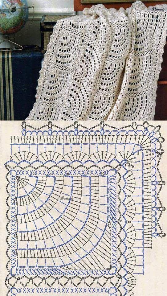 Piastrella crochet   Pinterest
