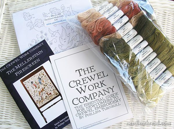 The Crewel Work Company Embroidery Kits Review Embroidery