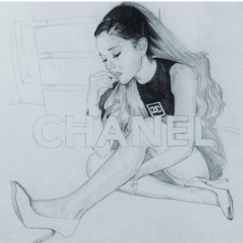 Ariana Grande Draw Portraits In 2019 Ariana Grande Drawings