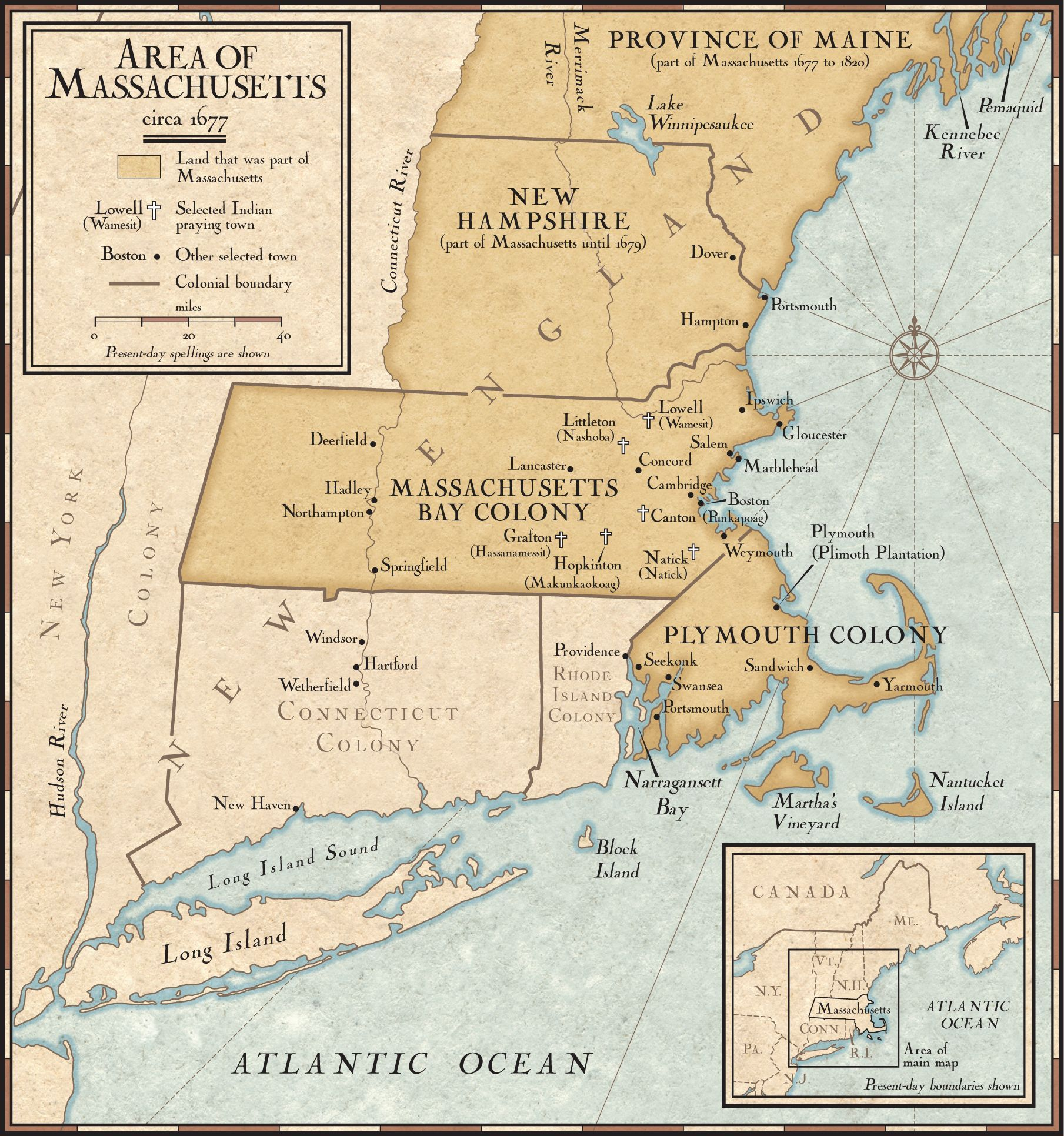 New England Colonies In