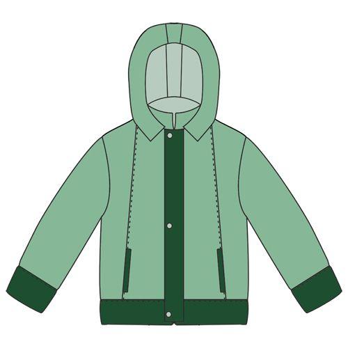 a6b65125 Выкройка куртки для мальчика   детям   Куртка, Одежда, Мальчики