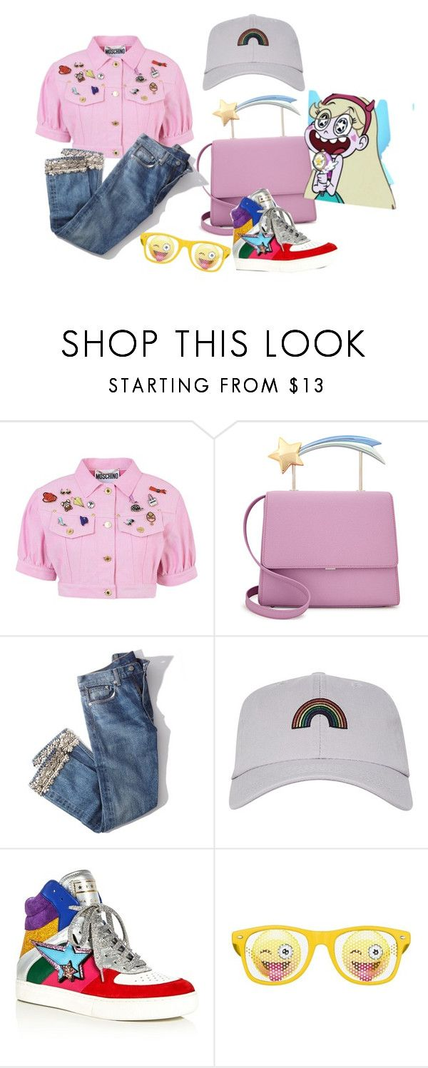 """""""Star Butterfly"""" by area2002 on Polyvore featuring Moschino, Brock Collection, Topshop and Marc Jacobs"""