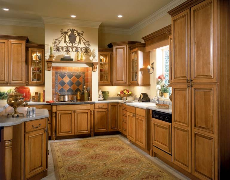 Home Depot American Woodmark Kitchen Cabinets
