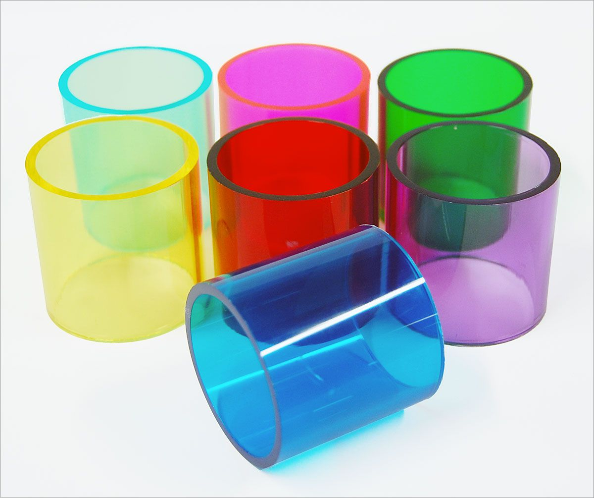 Colored Acrylic Tubes By Lineal Foot Acrylic Tube Acrylic Plastic Plastic Molds