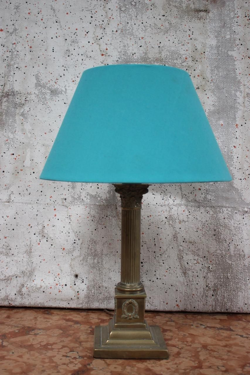 1930s English Brass Table Lamp Lamp Antique Ceiling Lights Brass Table Lamps