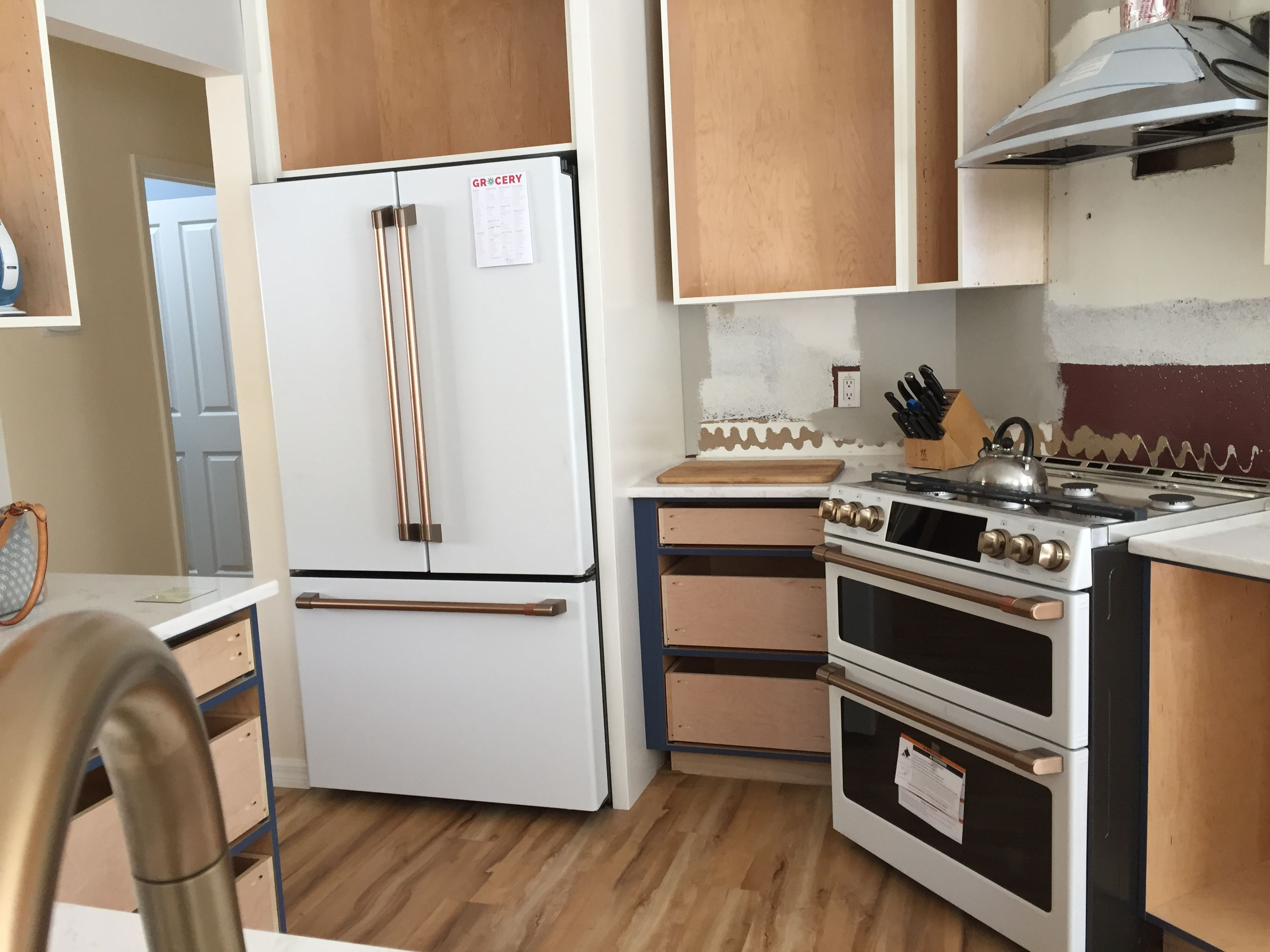 new ge café appliances delivered almost done updated kitchen ge cafe appliances home on kitchen appliances id=86630