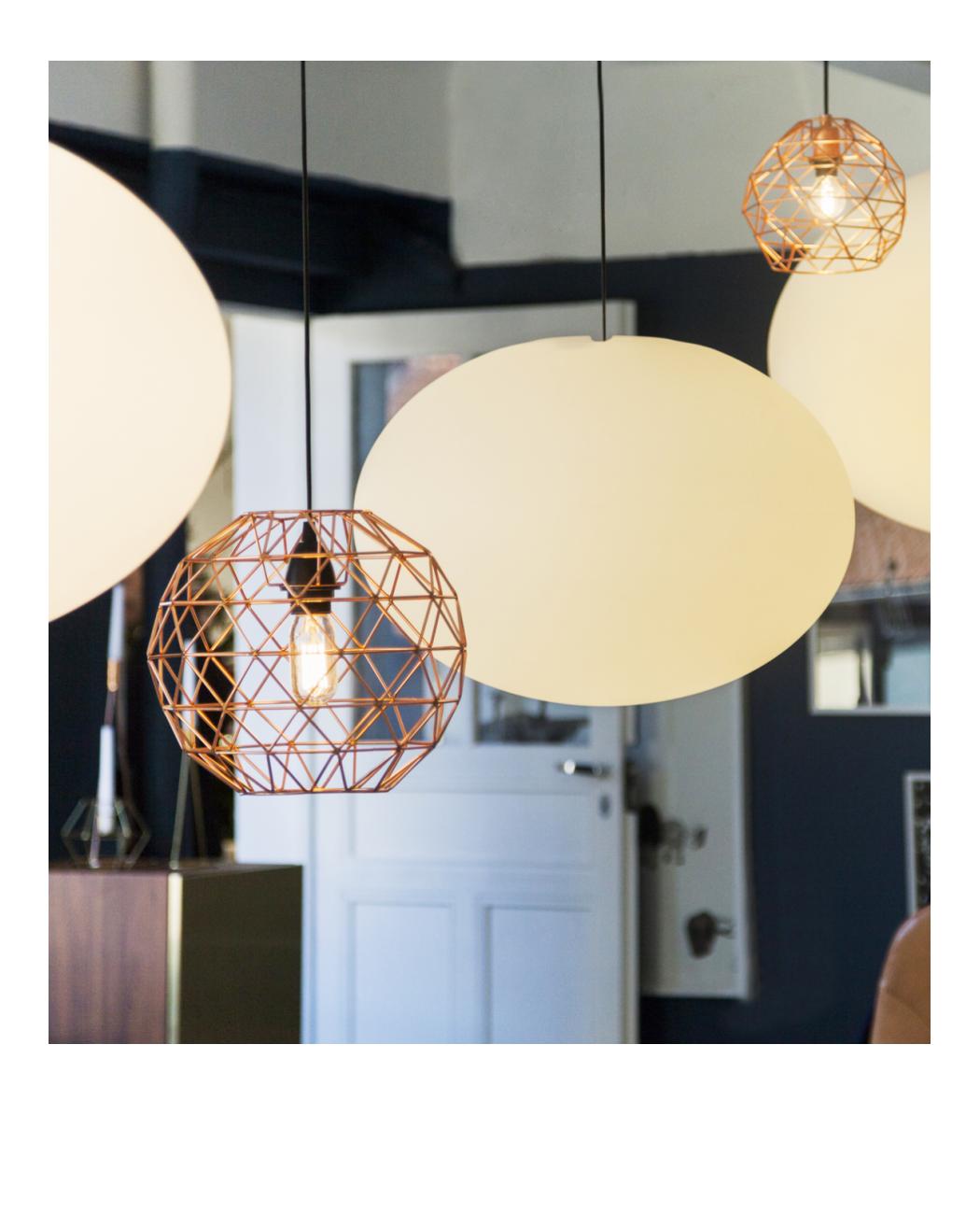 cage suspension copper habitat appart luminaire pinterest luminaires clichy et deco. Black Bedroom Furniture Sets. Home Design Ideas