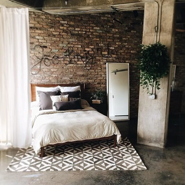 West Elm Marquis Rug: Industrial Loft W/ Our Mid-Century Bed + Handcrafted
