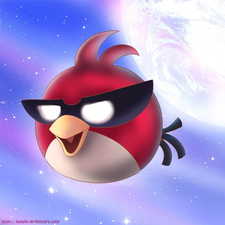 Angry Birds Super Red Bird iPad Background by Hayyie from - fresh angry birds go jenga coloring pages
