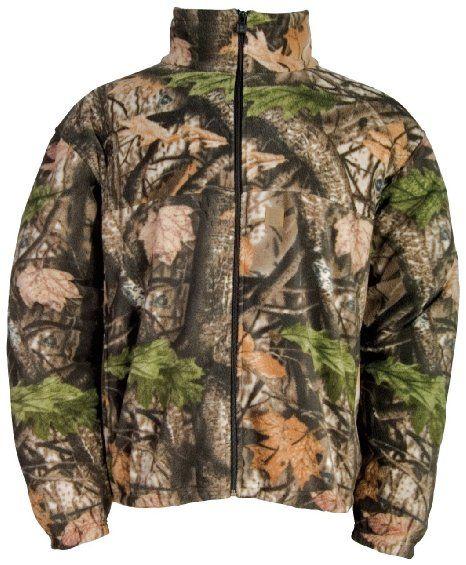 1543a0ecde76d Amazon.com: Big Bill Northland Fleece Jacket Wood 'N' Trail Camo: Sports &  Outdoors