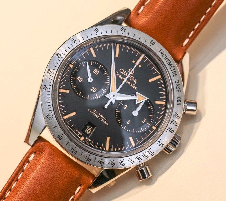 3d777a01d11 Omega Speedmaster  57  Vintage  Watch Hands-On