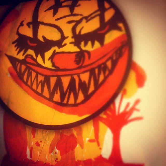 Working on a new tee design #mycho #cleavermovie #slasherhouse #horrormovies