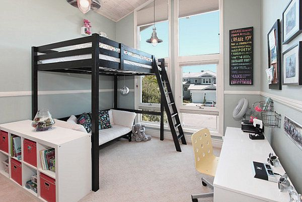 Nice Inspiration Ideas Loft Bed Ideas. 17 Marvelous Space Saving Loft Bed Designs Which Are Ideal For Small Homes
