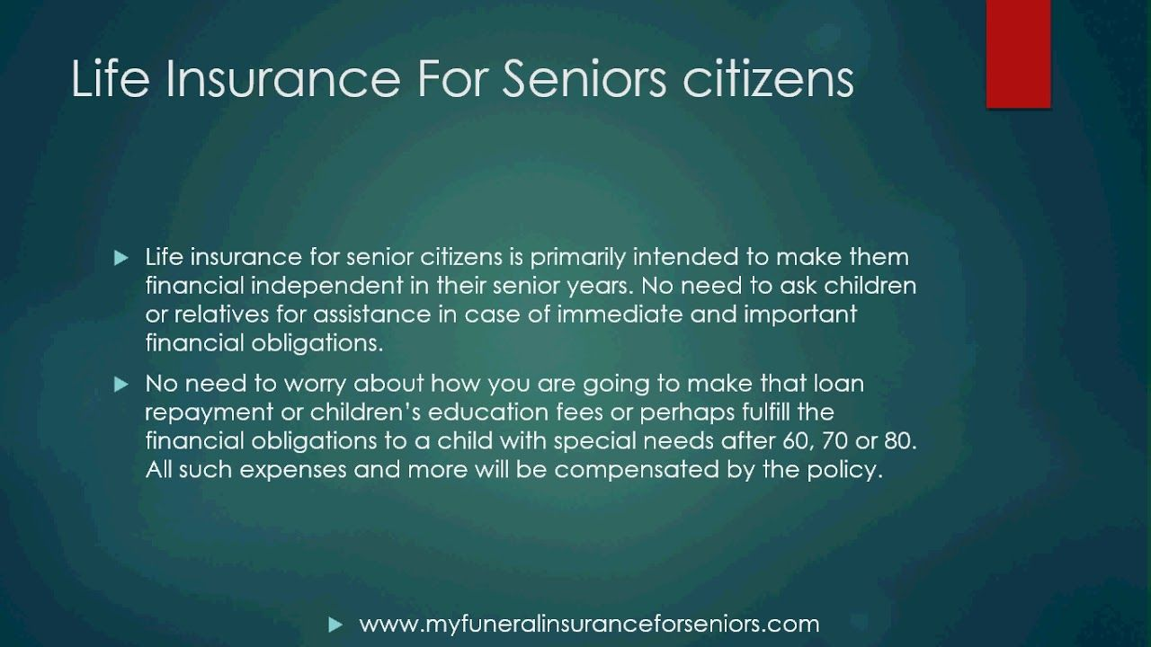 Compare Funeral Plans For Senior Citizens | Life insurance ...