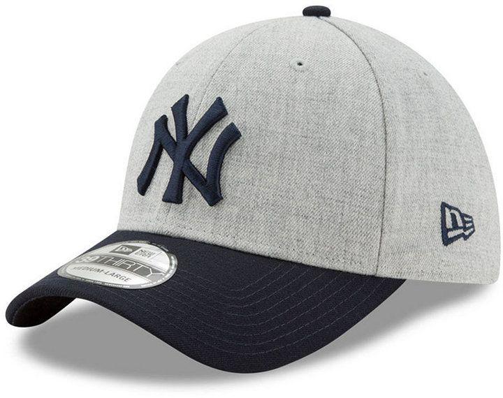 NAVY//WHITE NEW ERA HEATHER 39THIRTY CAP