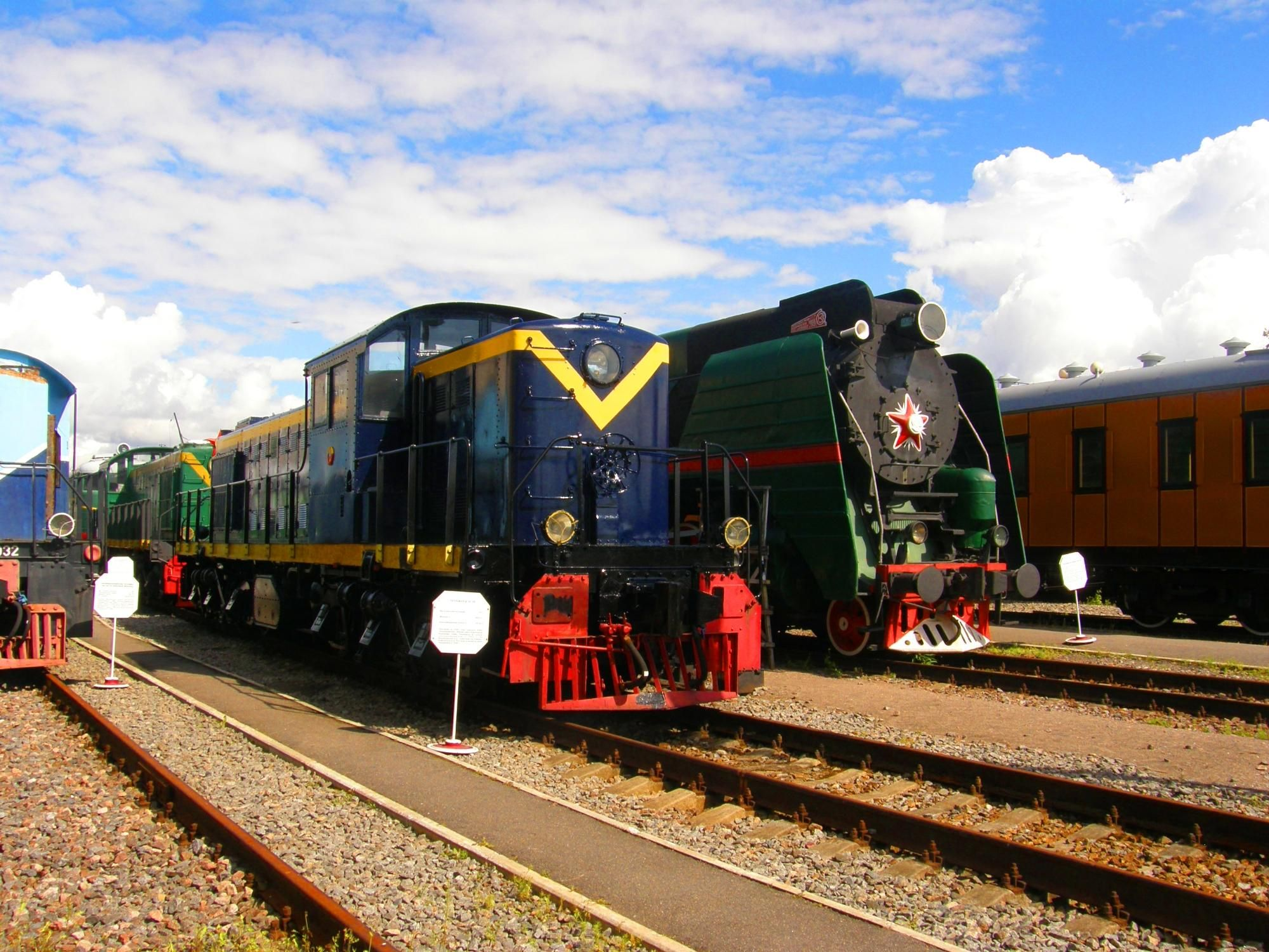 Museum of Railway Equipment - St. Petersburg, Russia