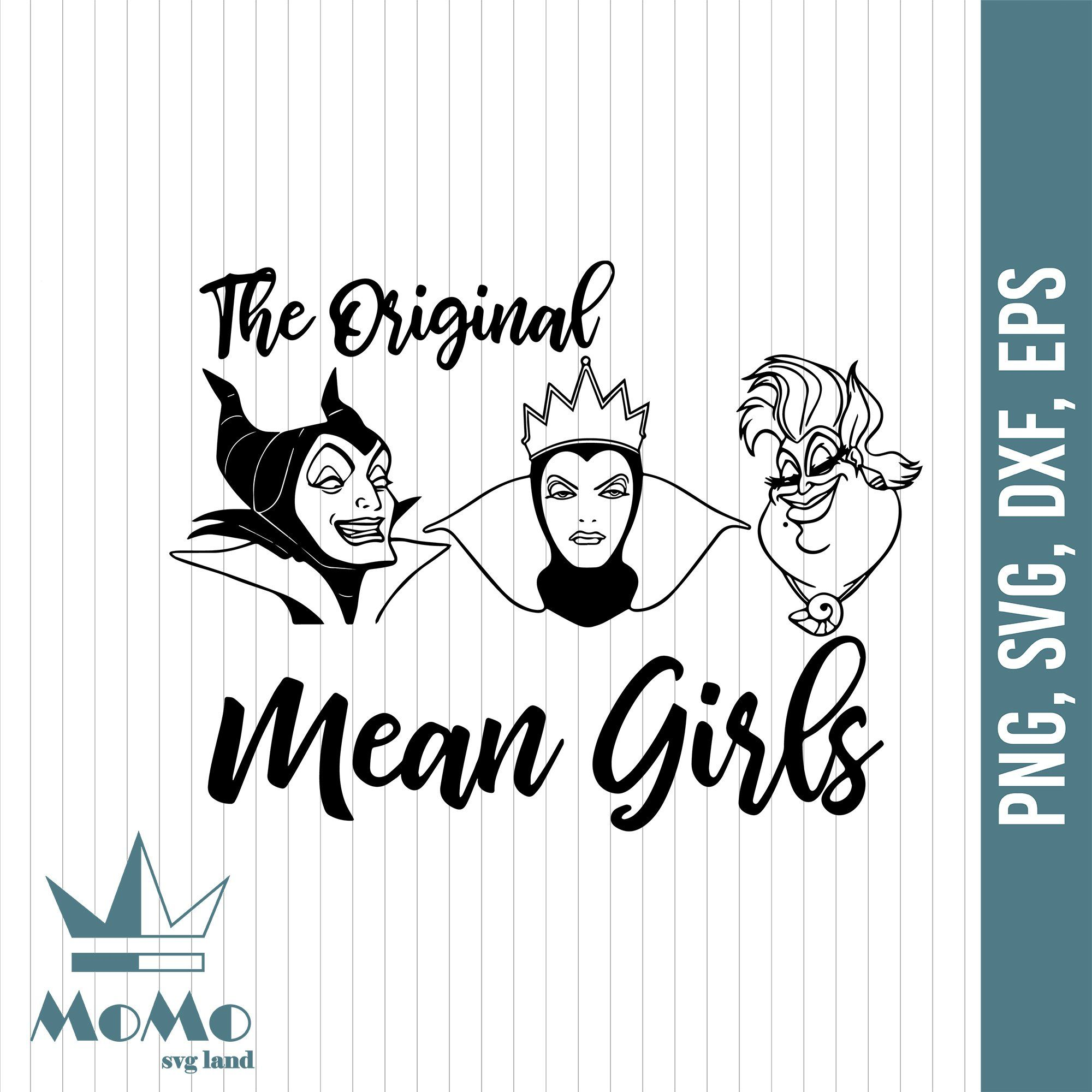 The original mean girls svg, Villain svg, Disney svg
