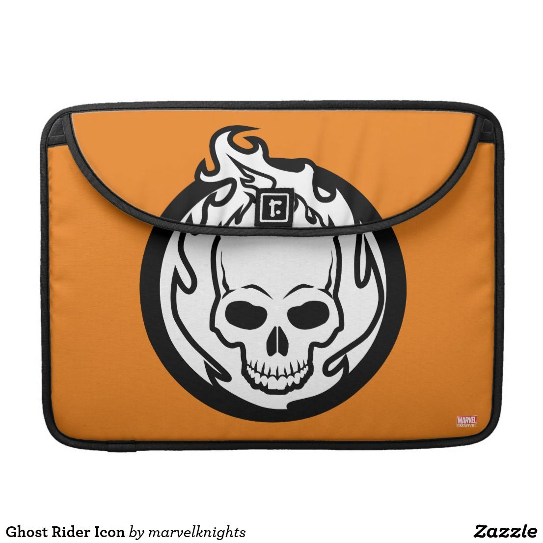 Ghost Rider Icon Macbook Pro Sleeve Zazzlecom Ghost Rider