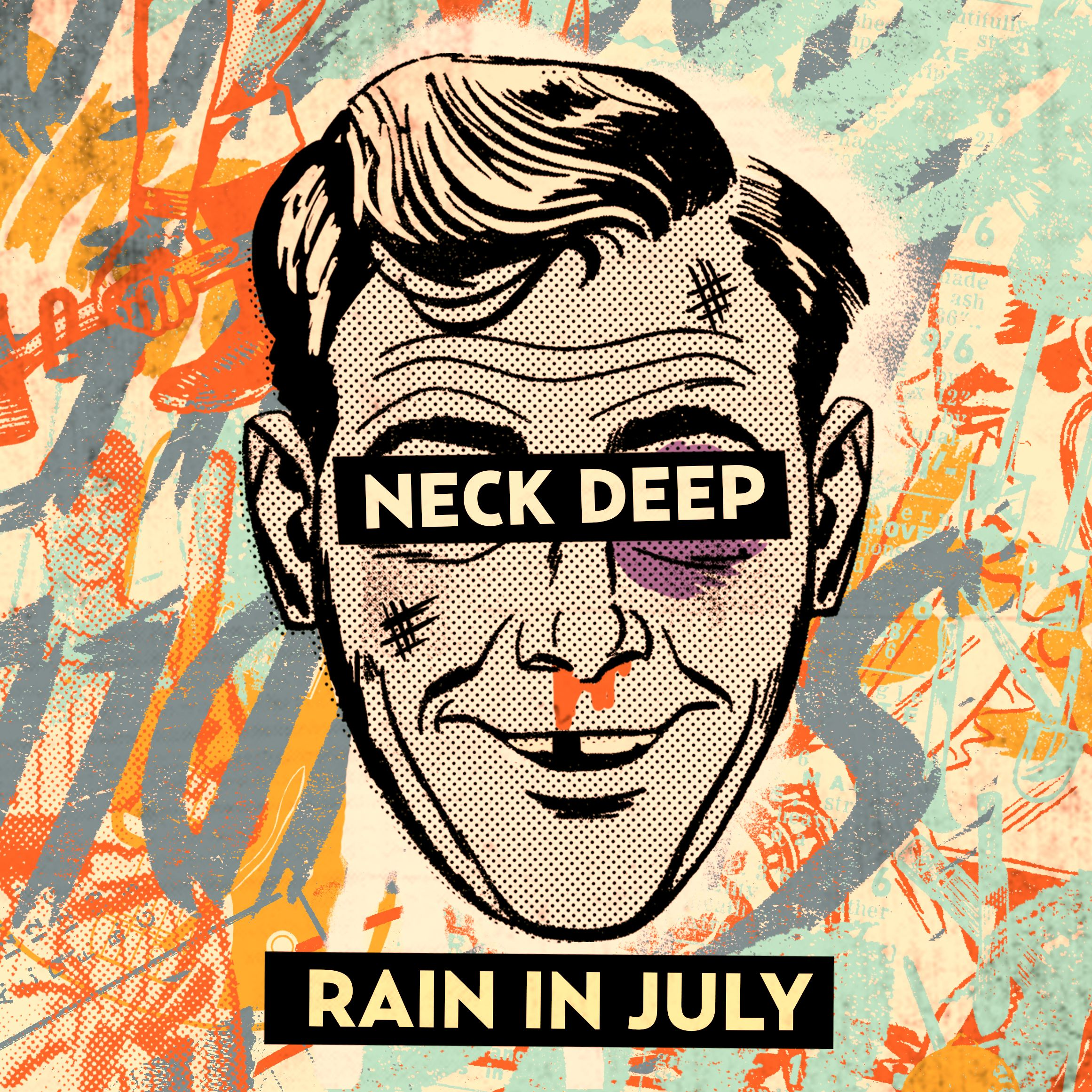 Neck Deep Rain In July Pinky Swear Records 2012