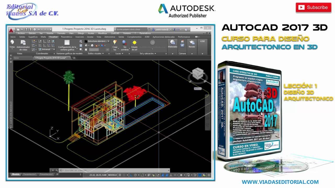 autocad 2017 tutorial 3d pdf