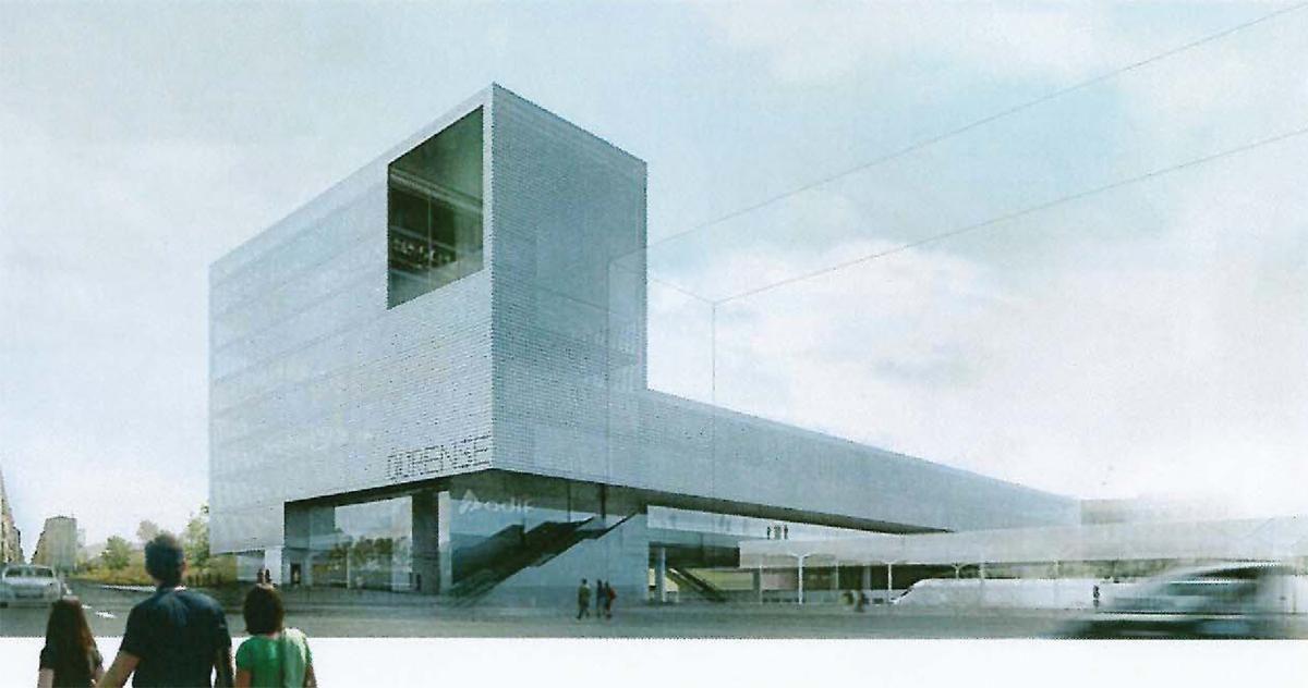 Herreros arquitectos lvarez silva concurso estaci n intermodal ourense juan herreros - Arquitectos ourense ...