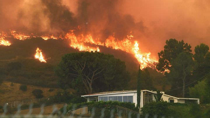 Los Angeles Battles Huge Wildfires Natural News California Wildfires Cardiac Event