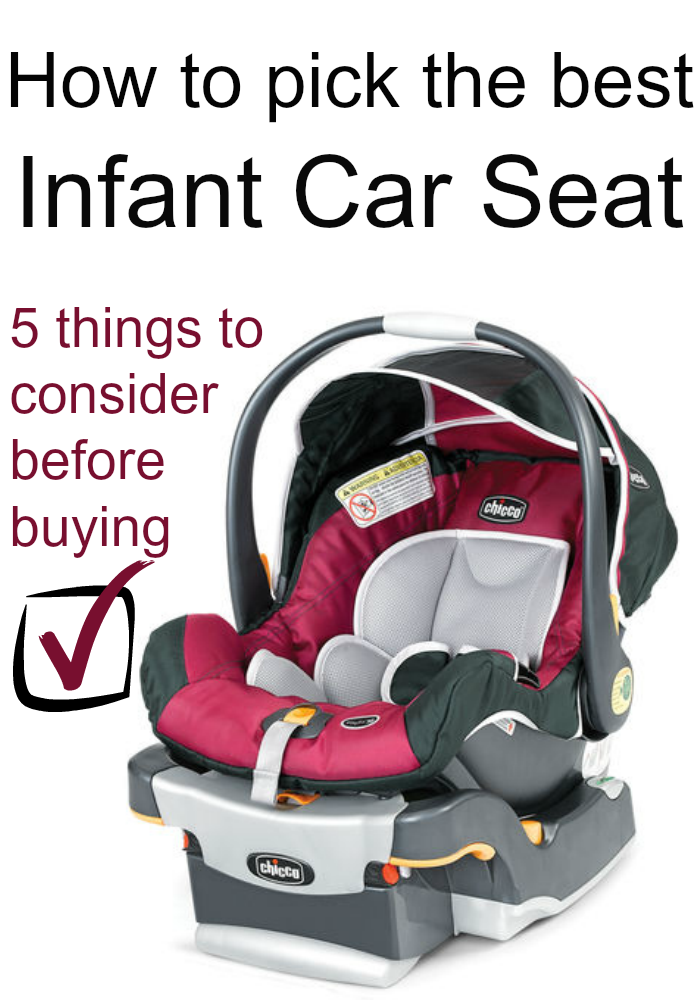How To Select The Best Infant Car Seat 5 Things You Need Consider Before Ing
