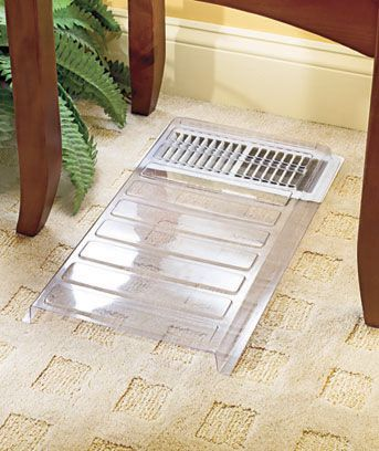 The Vent Extender Channels Air Out From Under Furniture To A More Open Area By Moving The Air More Efficiently Vent Extender Home Improvement Home Remodeling