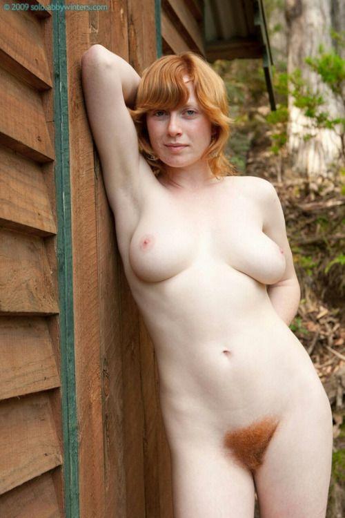 Hairy porn redhead