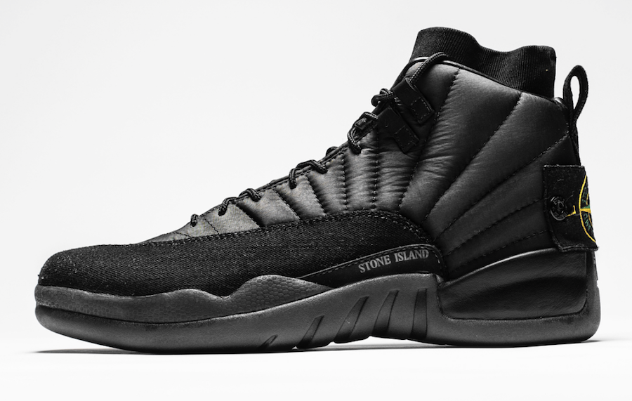 Another Air Jordan 12 OVO Stone Island Custom For Drake
