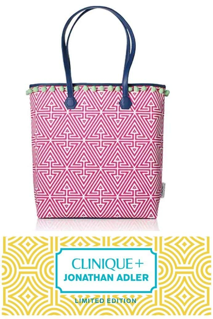 Jonathan Adler Designed Clinique Pink Tote Bag * You can