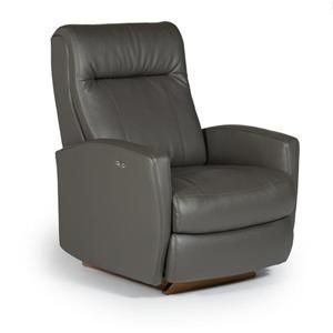 Recliners - Petite Costilla Swivel Glider Recliner by Best Home Furnishings at Baer's Furniture