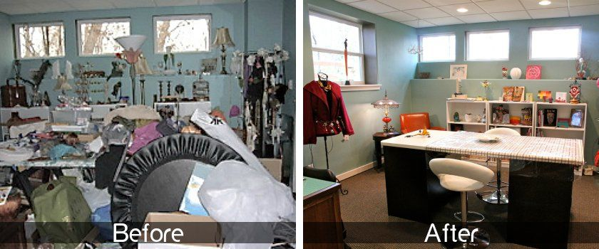 Blisathome before and after decluttering and - Declutter before and after ...