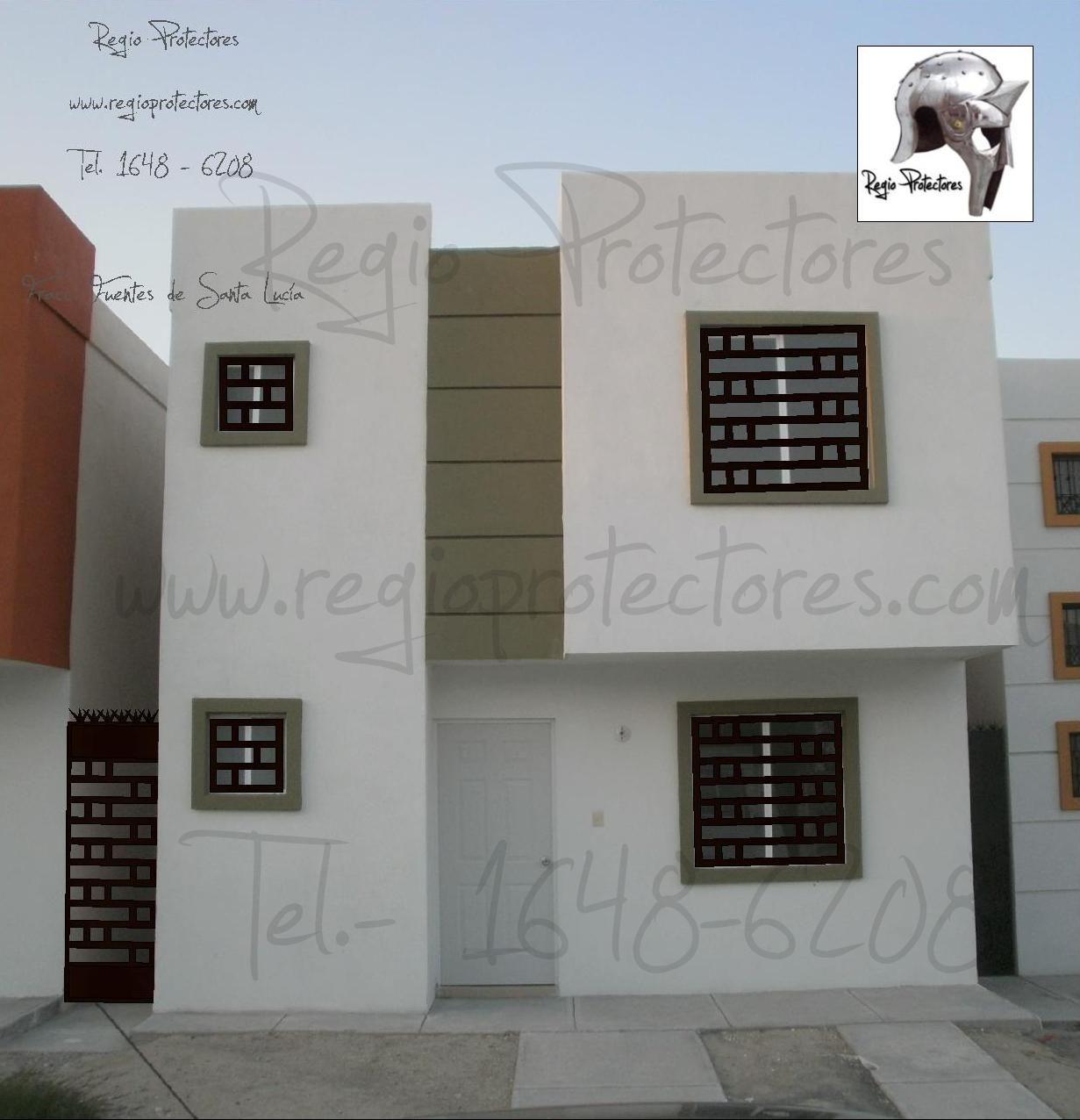 protectores para ventanas fracc fuentes de santa luca montaje y plano