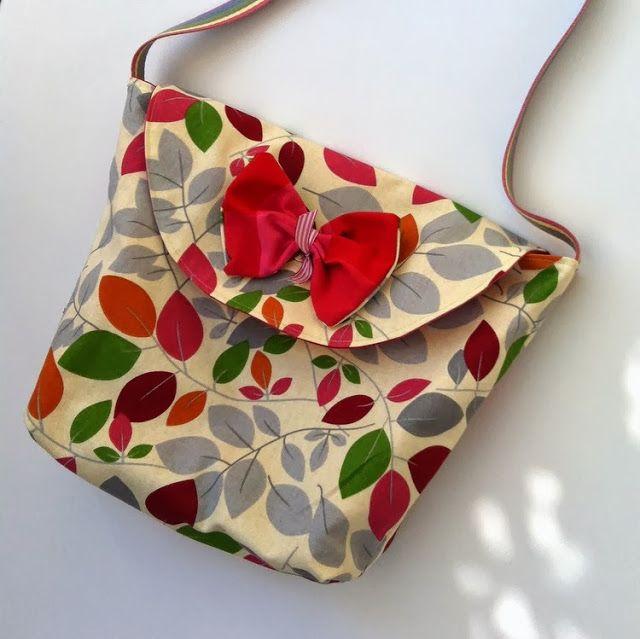 Wild Poppy Fields.: Bir saatte çanta - A bag in an hour