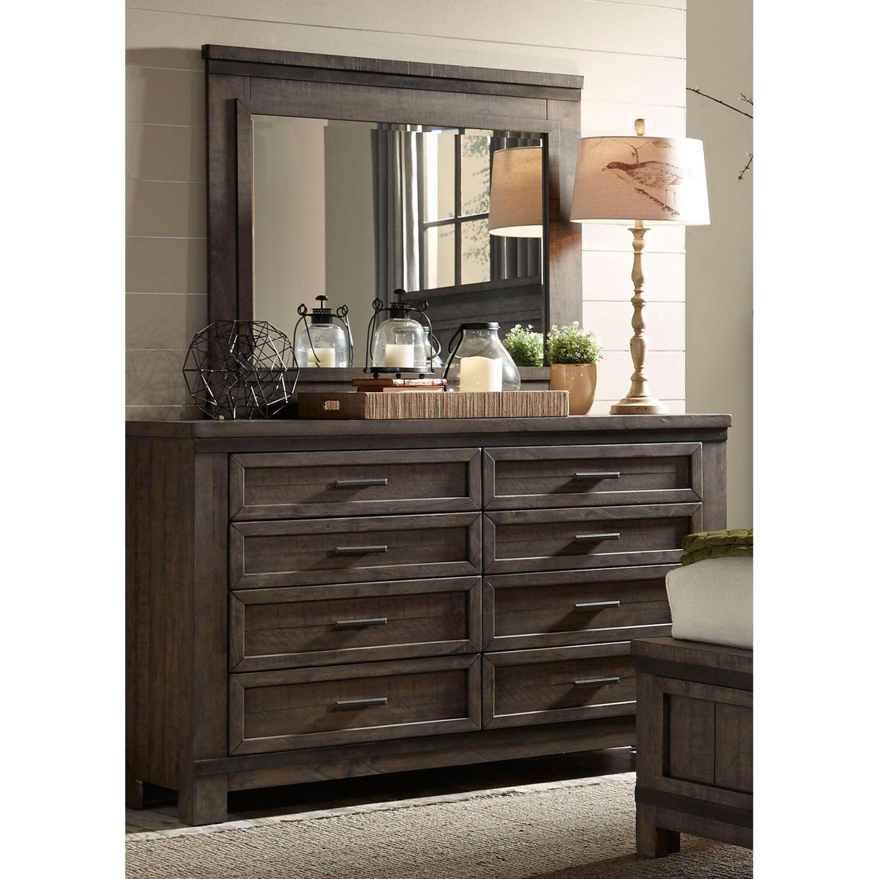 Liberty Furniture Thornwood Hills 8 Drawer Dresser 759