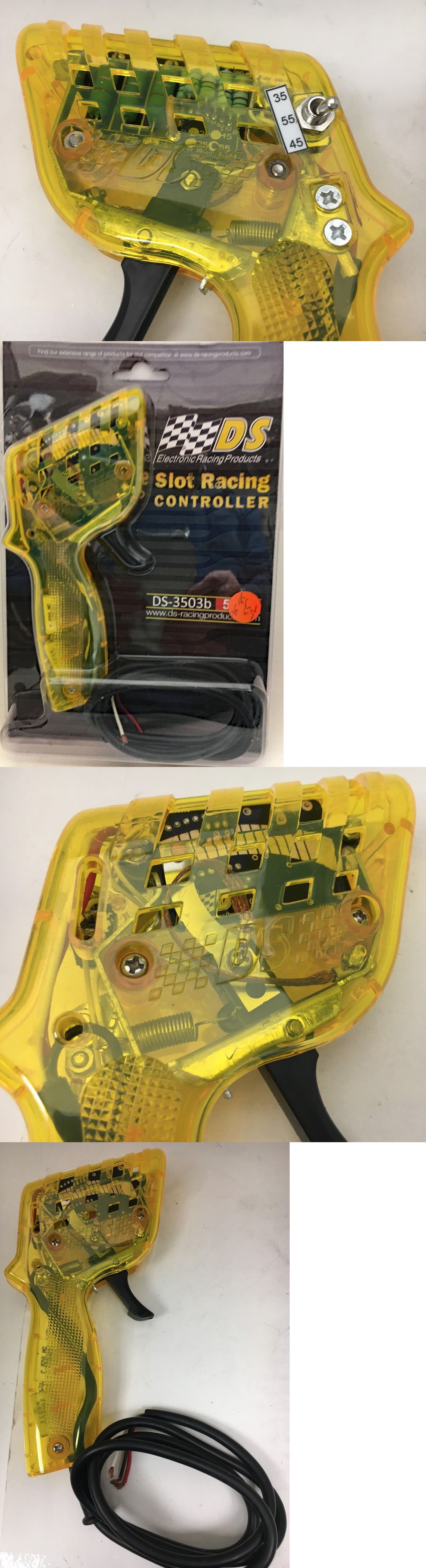 Accessories 164785: Yellow Ho Slot Car Controller By Ds 55