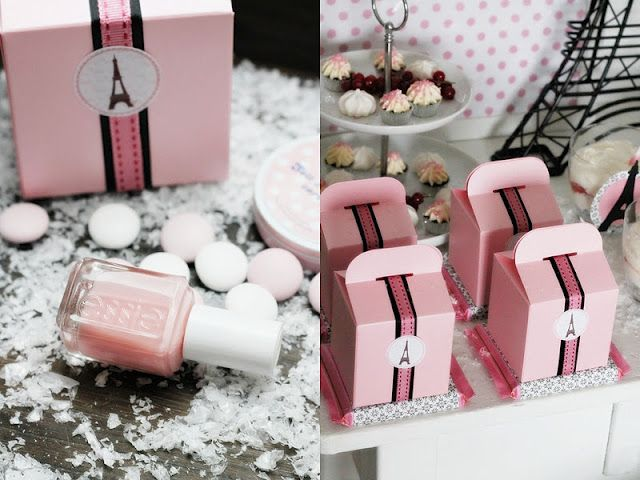 love the idea of nail polish as a shower takeaway | wedding showers ...
