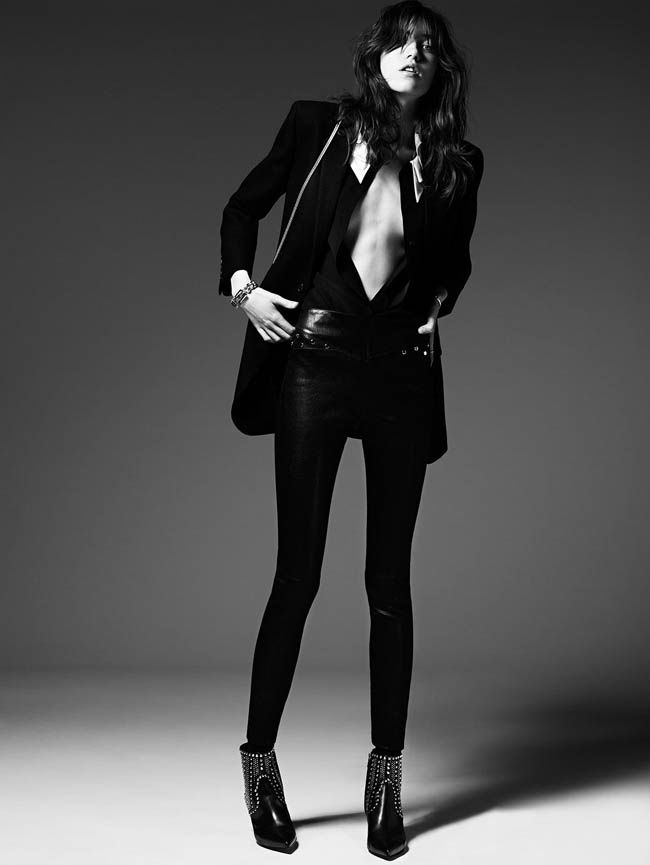 Saint Laurent by Hedi Slimane Pré Fall 2014 | Grace Hartzel  [Campaign]