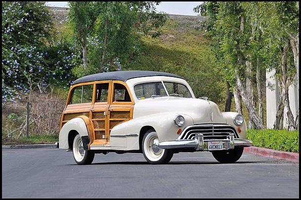1947 Oldsmobile Woody Wagon 238 Ci One Owner Until 2006 Mecum