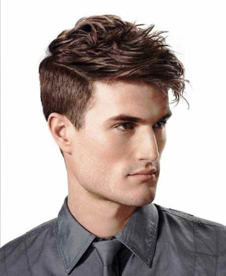 Short On Sides Long On Top Haircut Name : Medium length haircuts for men hair styles pinterest