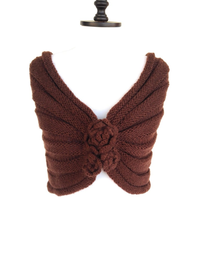 Photo of Brown Knit Scarf Women Winter Accessories Knitted Scarf Women – Winter Wedding Scarf Sale Brown Wedding Scarf Christmas Gift For Women