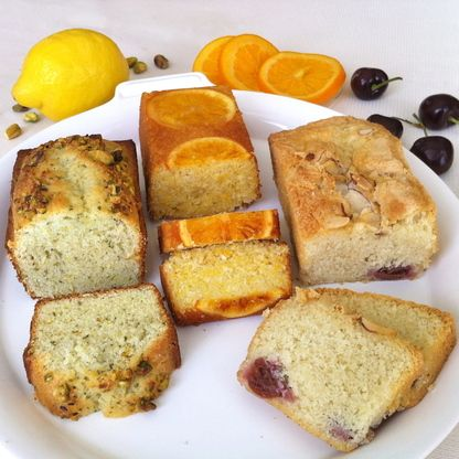 An exotic collection of three refreshing tea cakes that deliver the taste of sunshine all year round. Each cake is uniquely delicious, but they all complement one another.