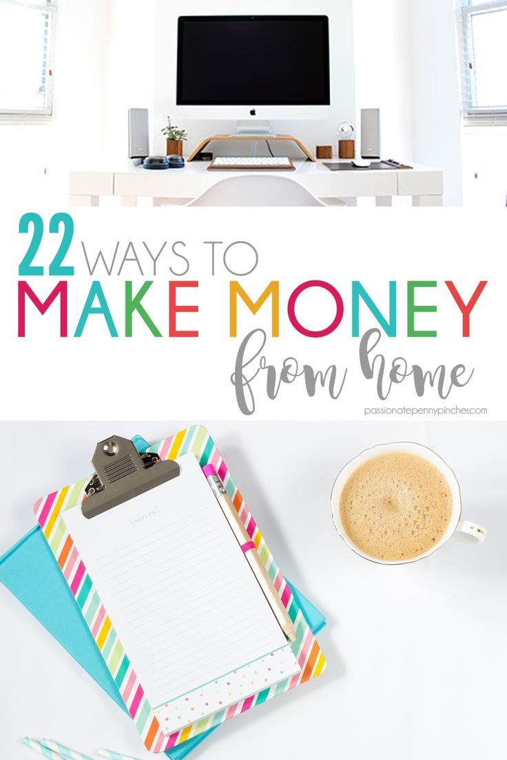 27 Ways to Make Money From Home | Extra money, Frugal and Frugal living