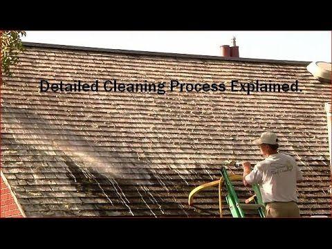 Best Removing Moss From Cedar Roofs Cedar Roof Washing 400 x 300