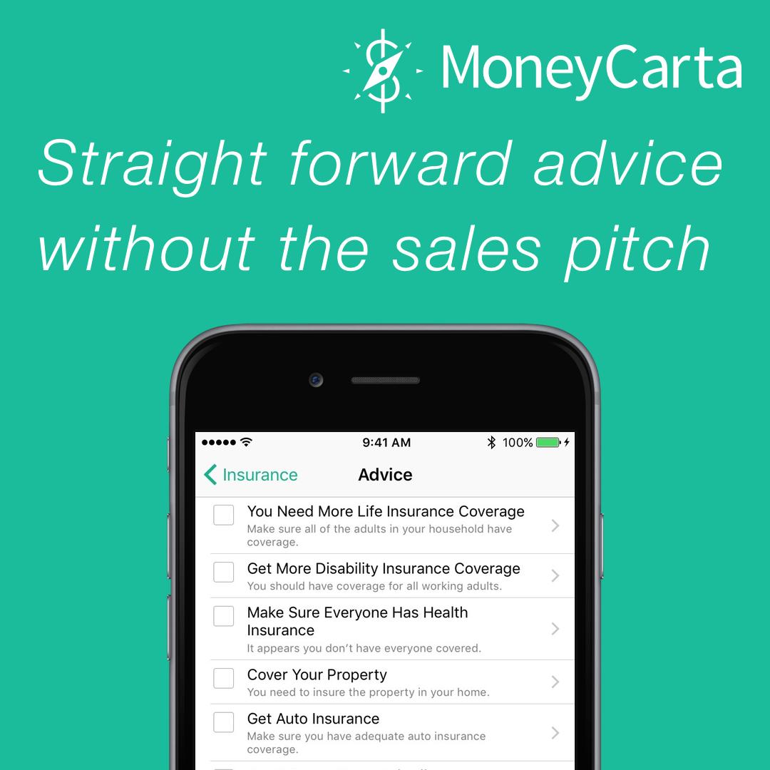 PersonalFinance isn't complicated, let MoneyCarta put a